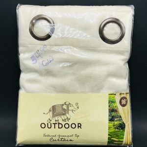 World Market Outdoor Curtain 54x96 Grommet Top